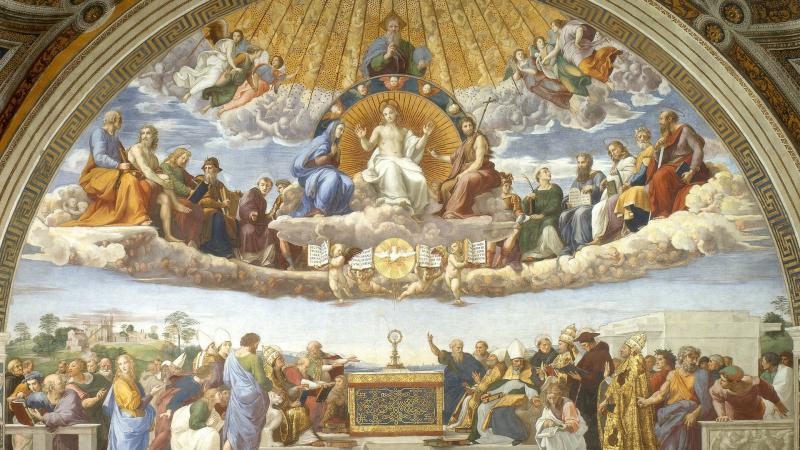 Raffaello: Az Oltáriszentség disputája